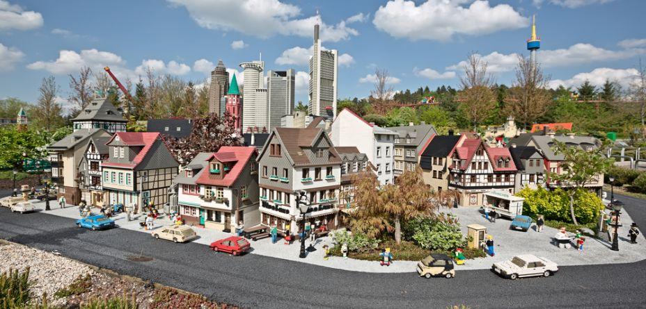 miniature lego town